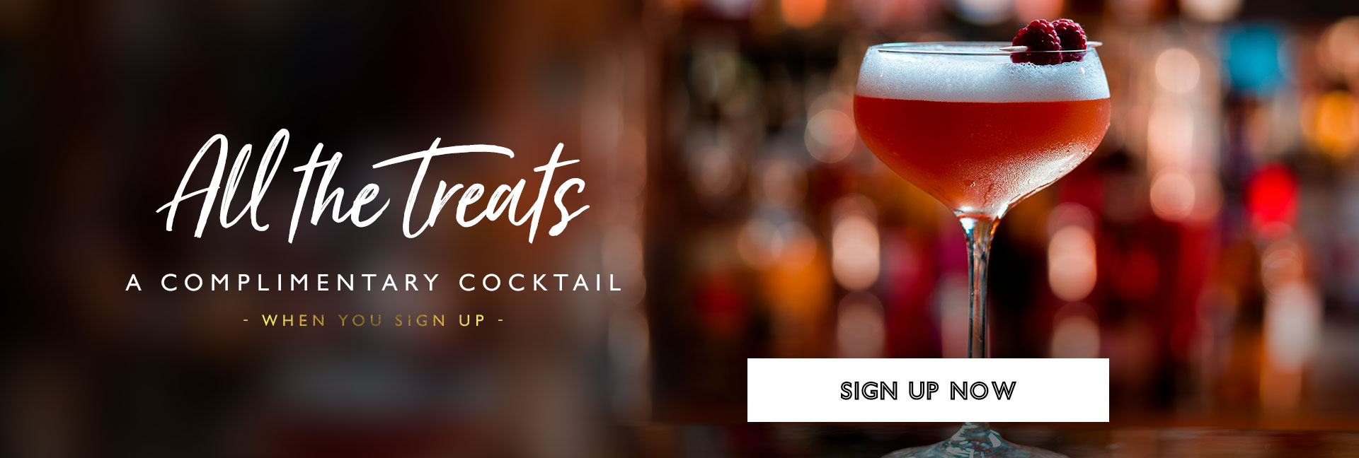 Sign up to All Bar One New Street Station