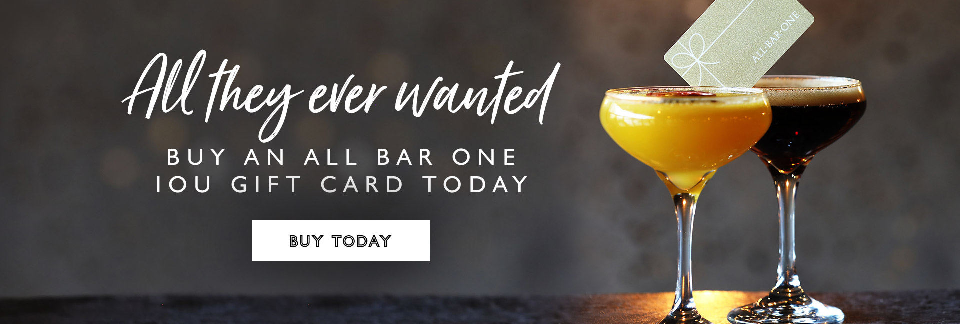 Buy an All Bar One gift card