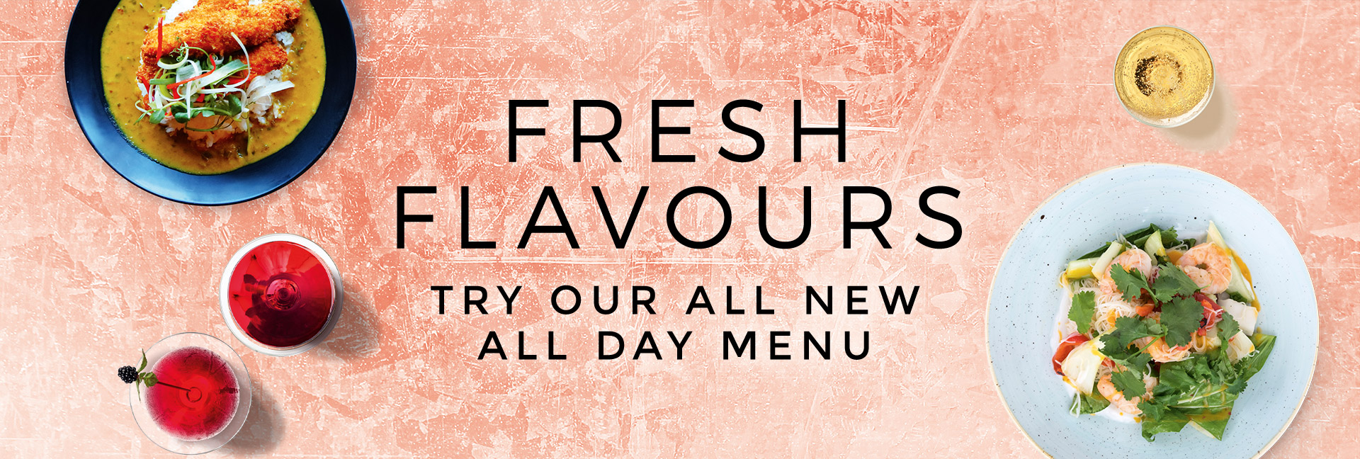 New Menus at All Bar One Nottingham