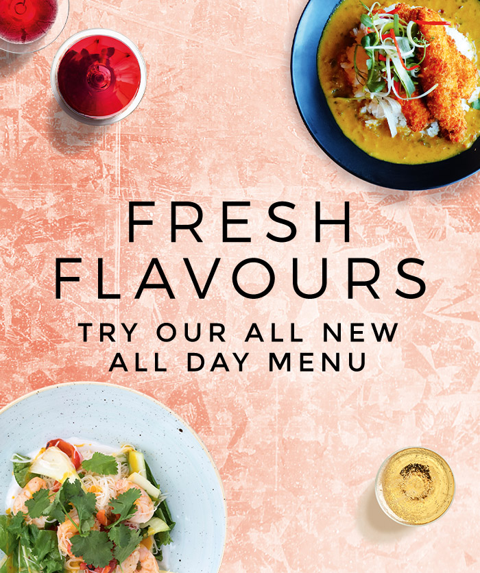 New Menus at All Bar One Victoria