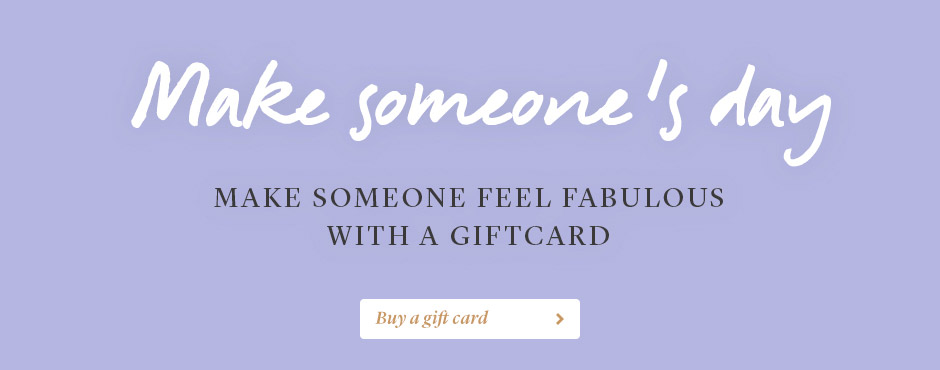 Make someone's day with a gift card