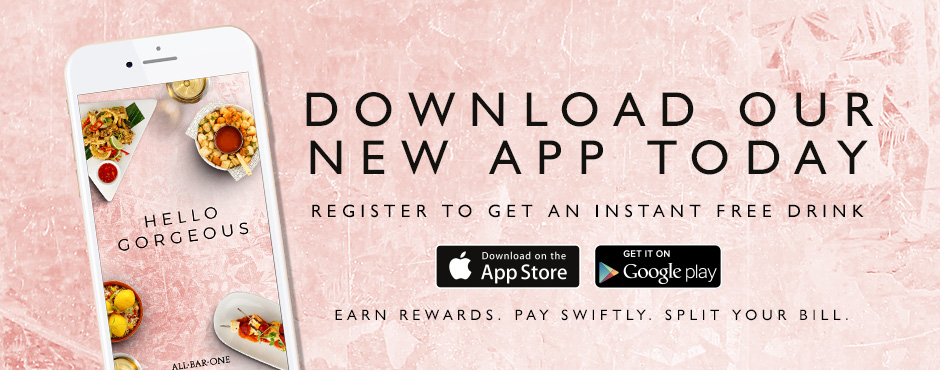 All Bar One Loyalty App - Download for exclusive offers and rewards on Apple and Android