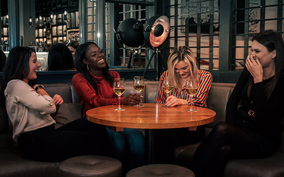 Wine-der-lust at All Bar One