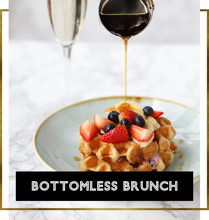 Bottomless Brunch Menu