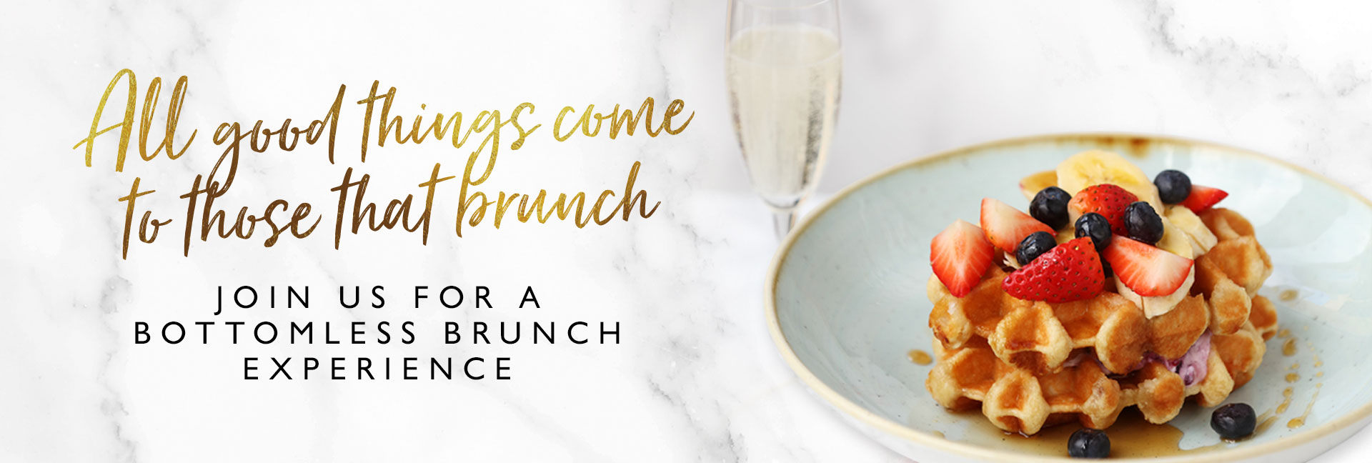 Bottomless Brunch at All Bar One Victoria - Book now