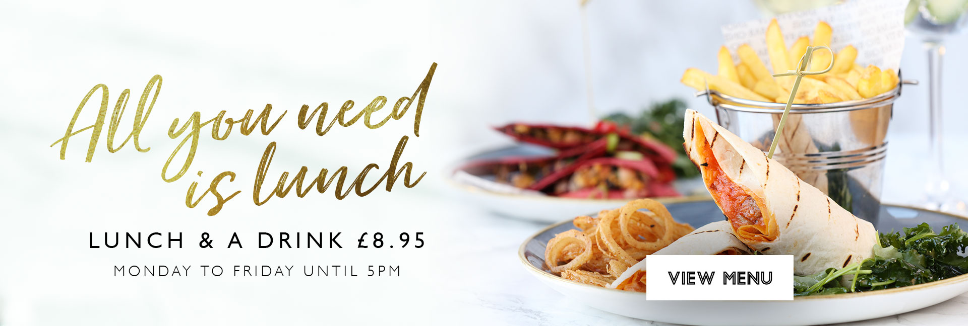 Lunch Offer at All Bar One Brindleyplace