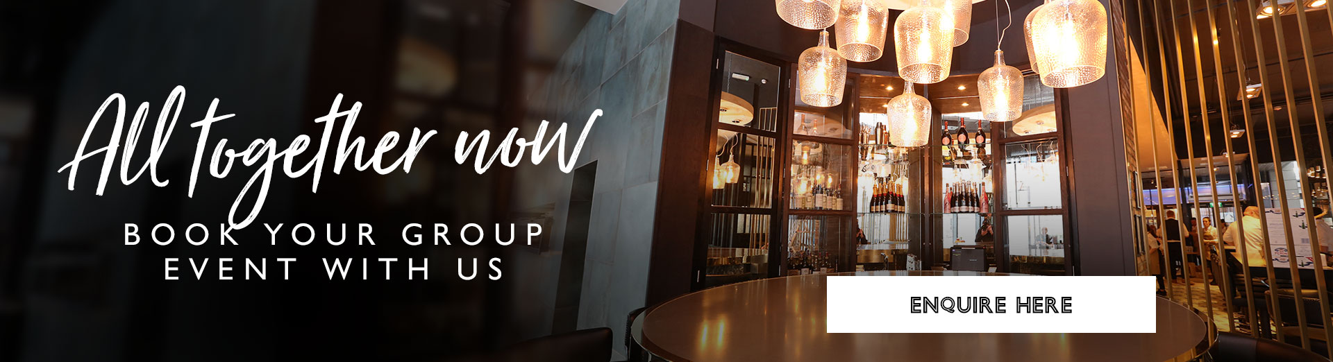 Group Bookings at All Bar One Newhall Street Birmingham