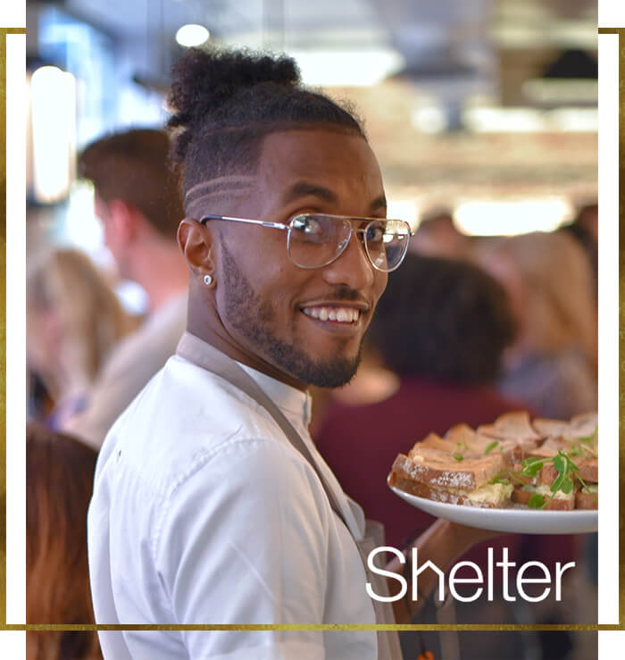 Our partnership with Shelter