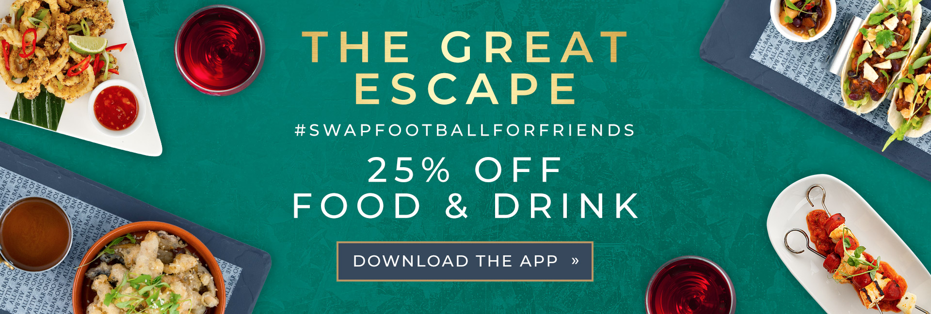 The Great Escape at All Bar One