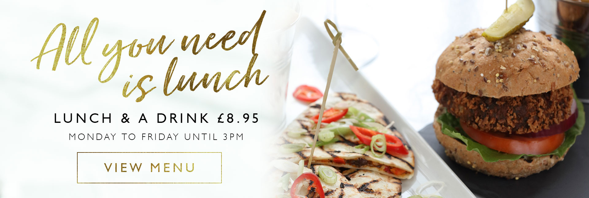 View our lunch offer at All Bar One Liverpool