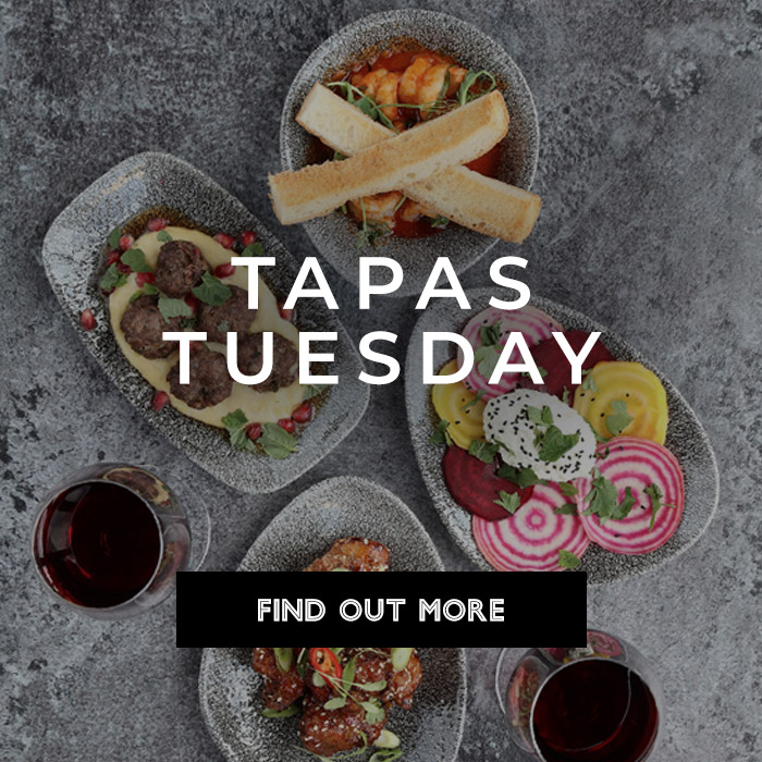 Tapas Tuesday at All Bar One Brindleyplace