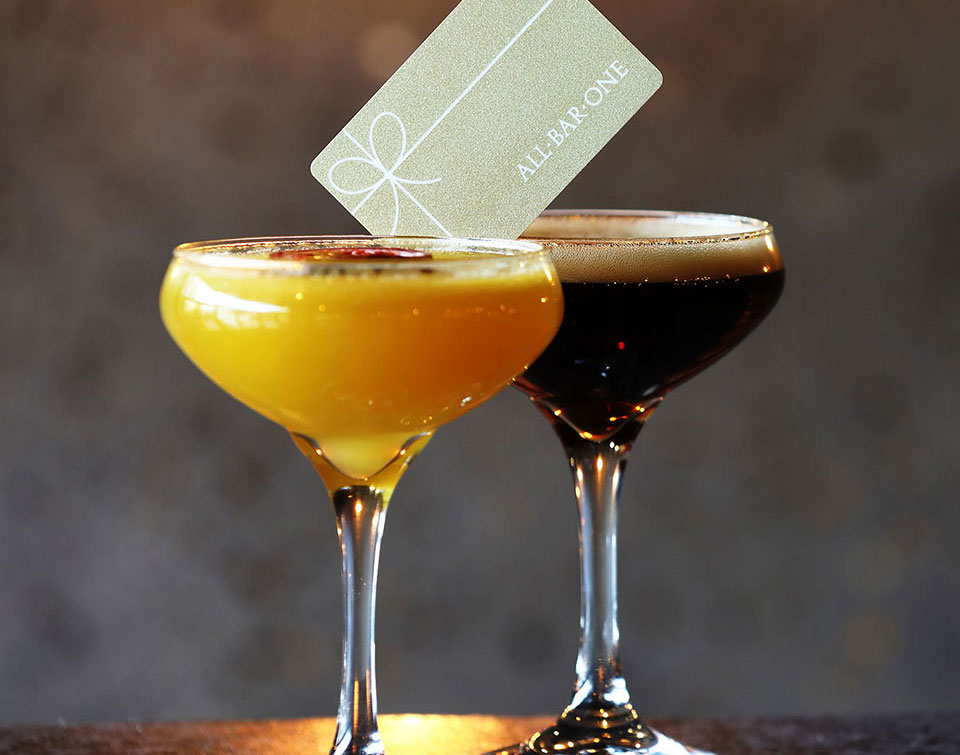 All Bar One gift card