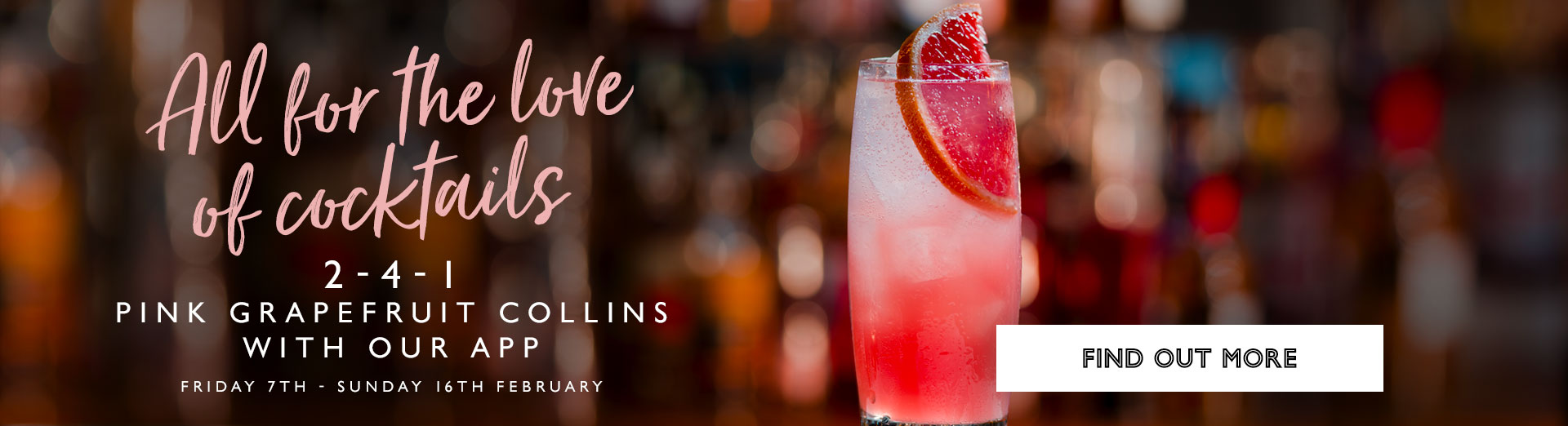 Galentine's at All Bar One Covent Garden