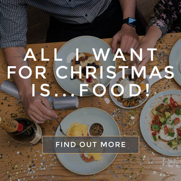 All I want for Christmas is FOOD!