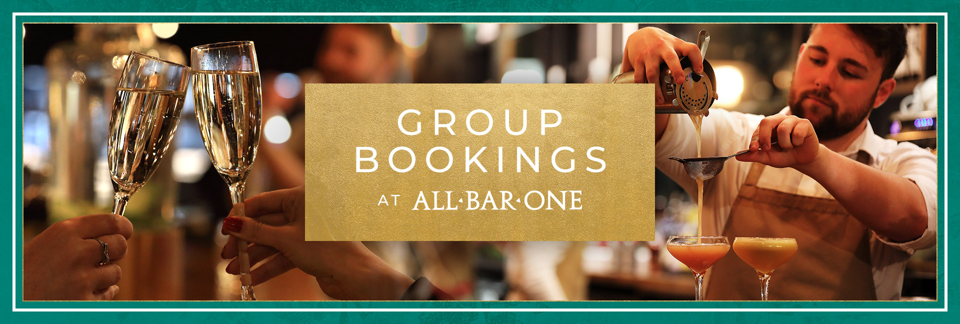 Group Bookings at All Bar One
