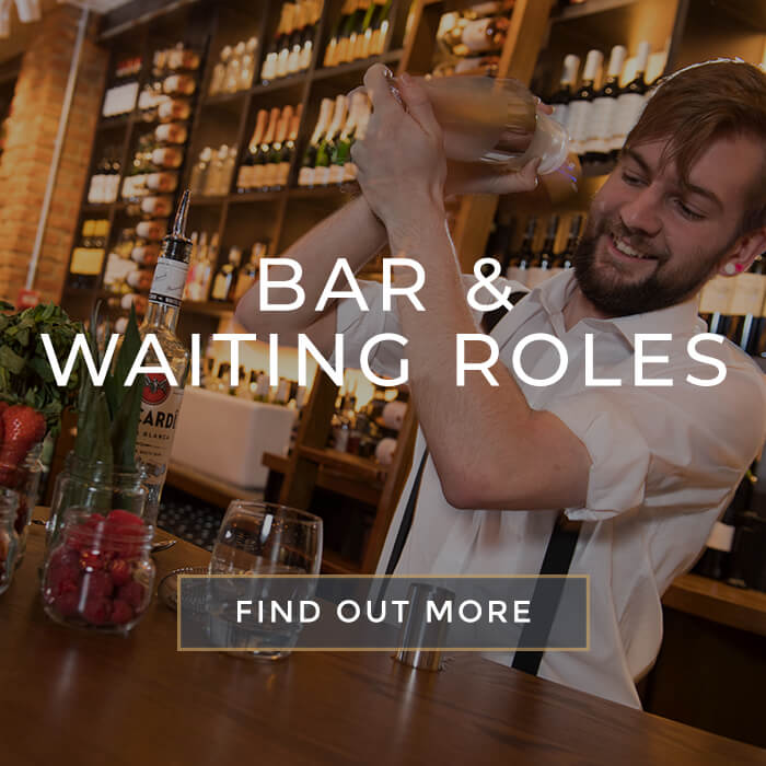 Floor Roles at All Bar One