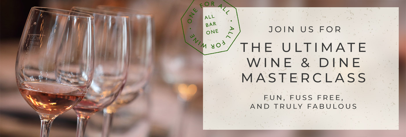 Wine & Dine Masterclass at All Bar One
