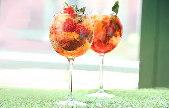 Perfect Pimm's at All Bar One