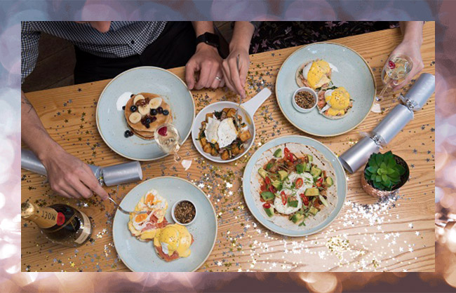 View our Festive Brunch Menu at All Bar One New Oxford Street
