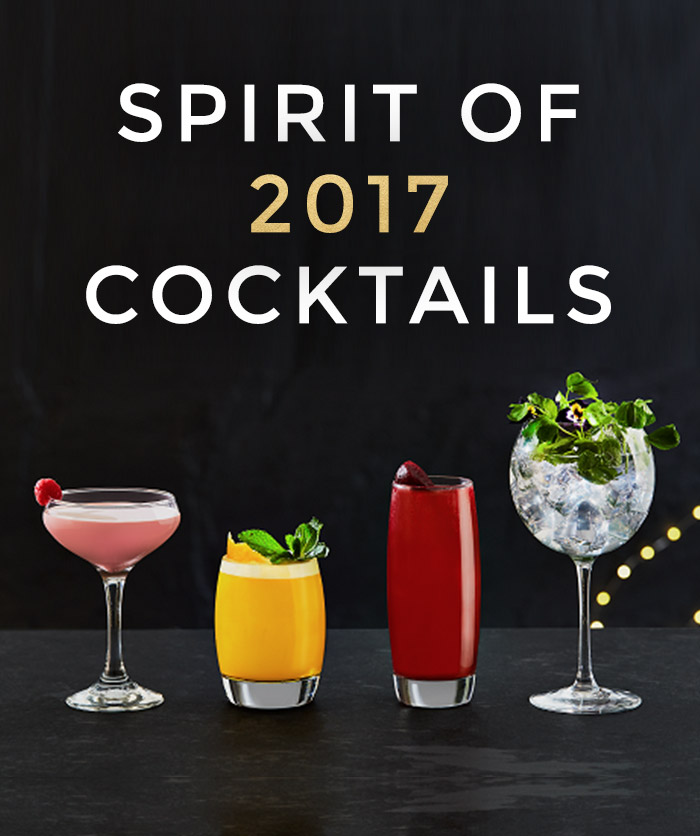 Spirit of 2017 cocktails at All Bar One Cambridge