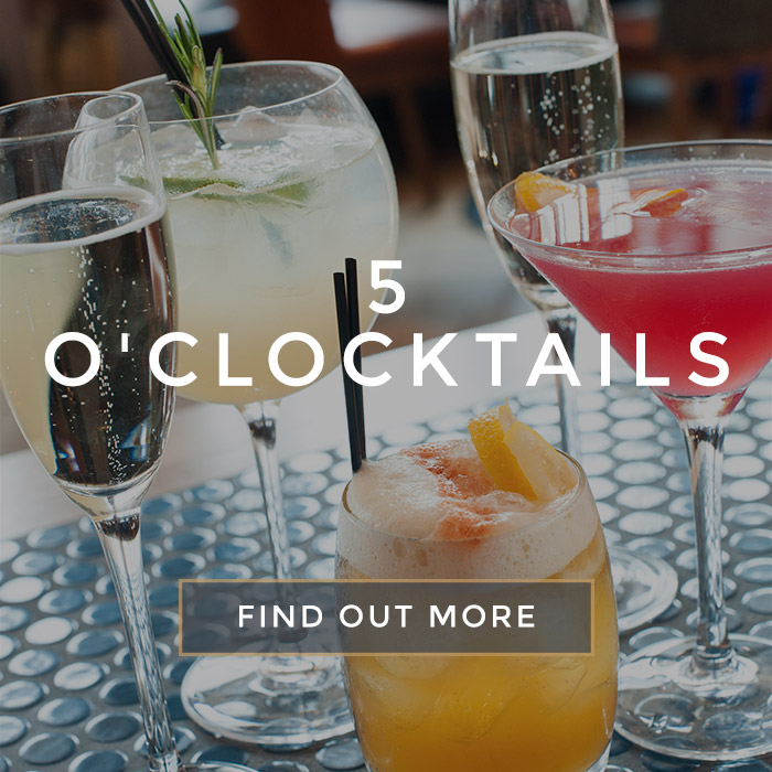 5 o'clocktails at All Bar One Butlers Wharf