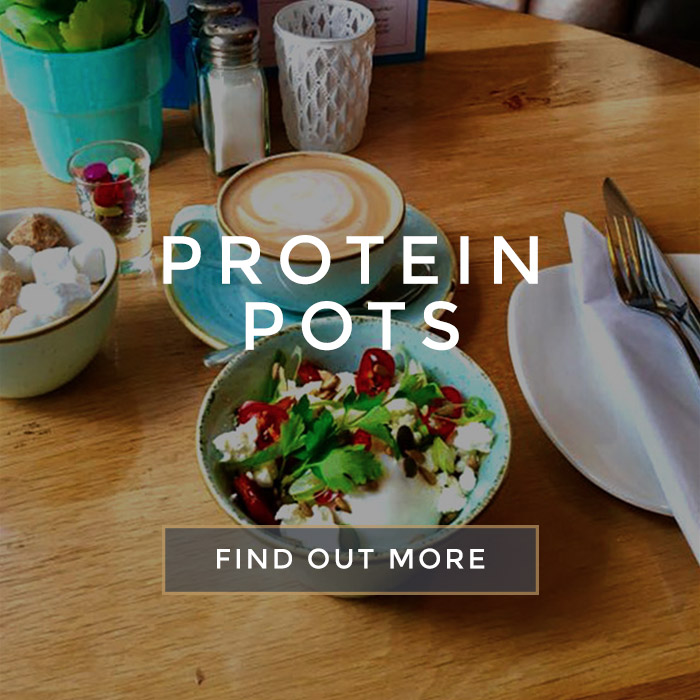 Protein pots at All Bar One Manchester