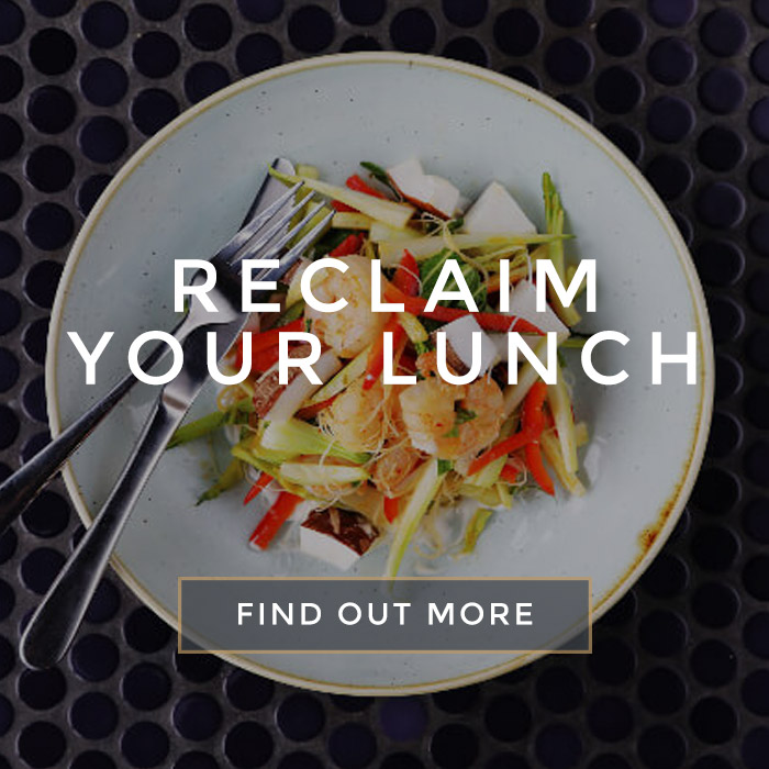 Reclaim your lunch at [outlet]