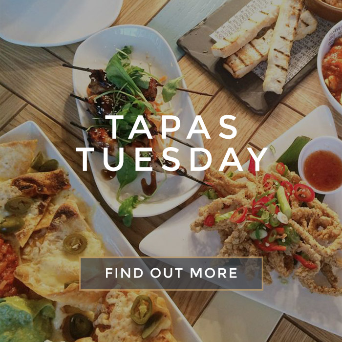 Tapas Tuesday at All Bar One Appold Street