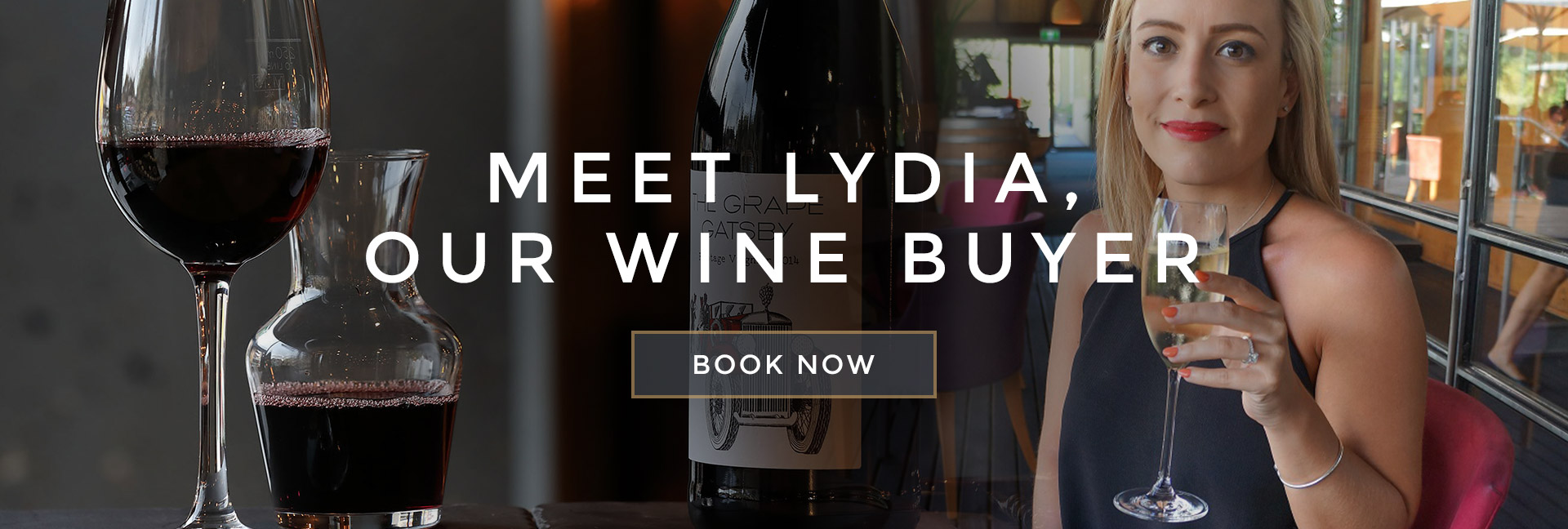 Meet Lydia, our wine buyer at All Bar One Villiers Street