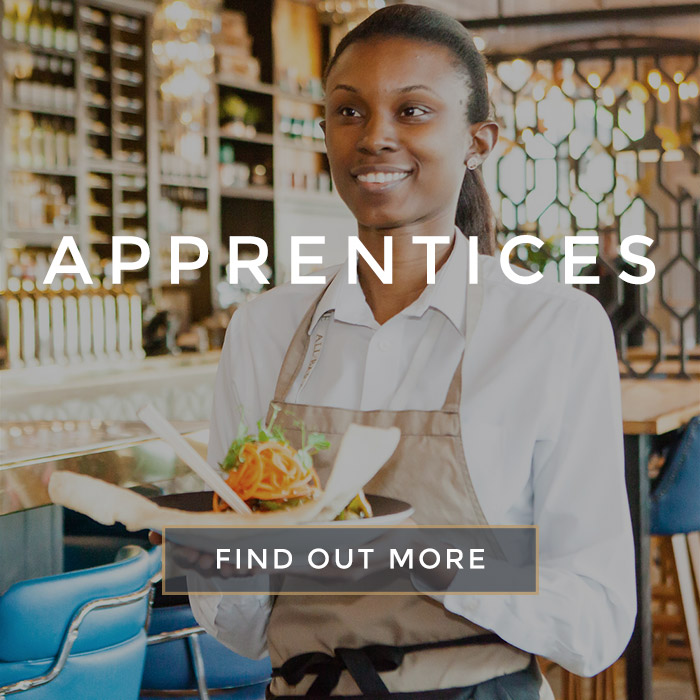 Apprentice Roles at All Bar One The O2
