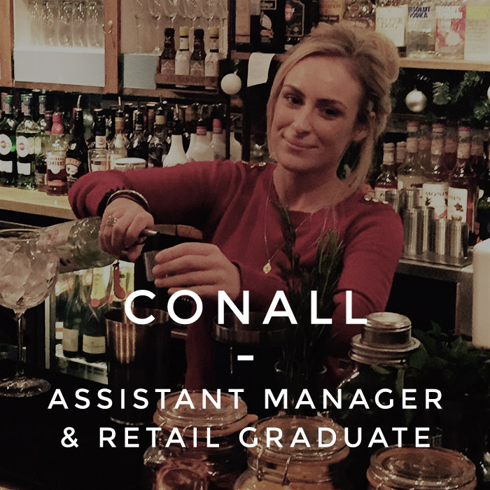 Conall - Assistant Manager & Retail Graduate