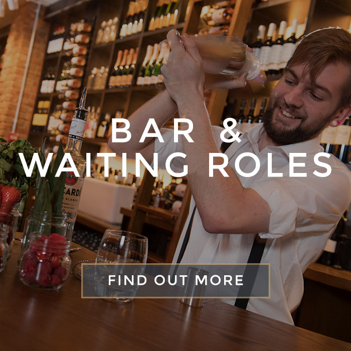 Floor Roles at All Bar One New Street Station