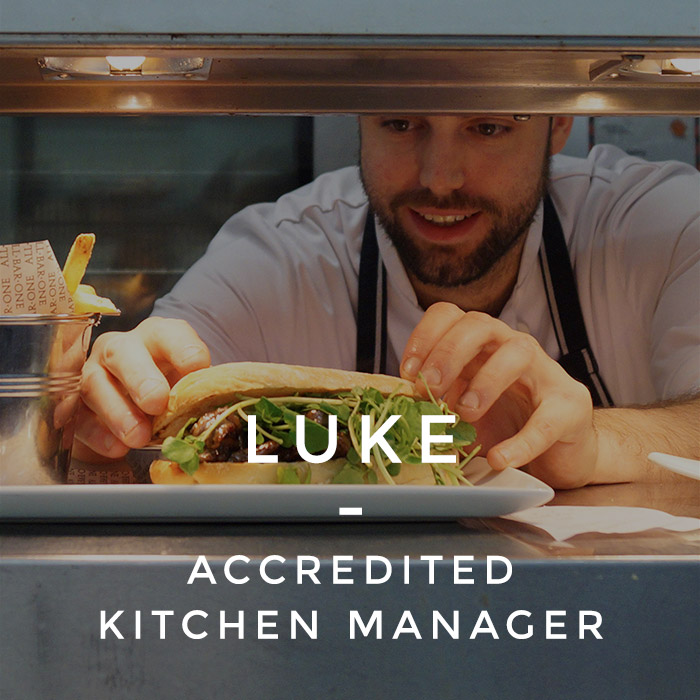 Luke - Accredited Kitchen Manger