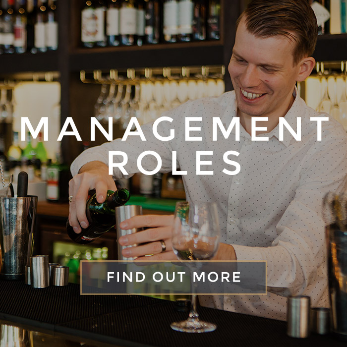 Management Roles at All Bar One Kingsway