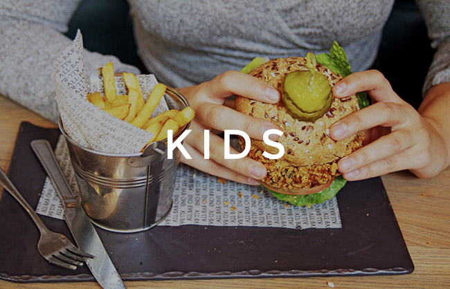 Kids menu at All Bar One Victoria