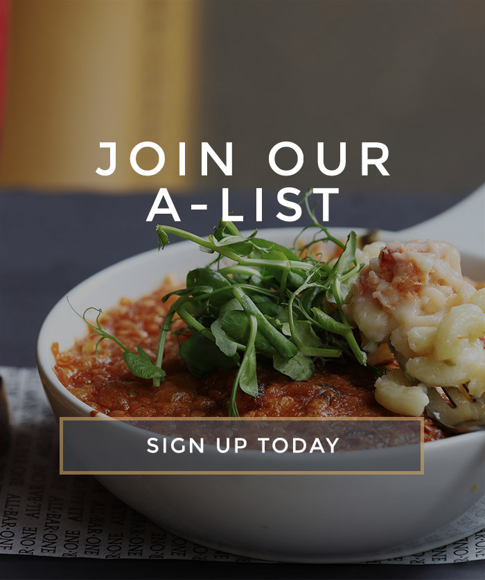 Join the All Bar One A-List - Sign up today