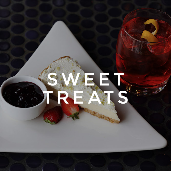 Sweet treats menu at All Bar One The O2