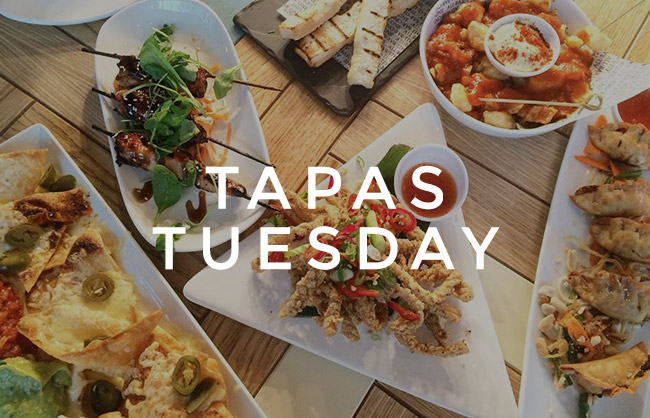 Tapas Tuesday at All Bar One Guildford