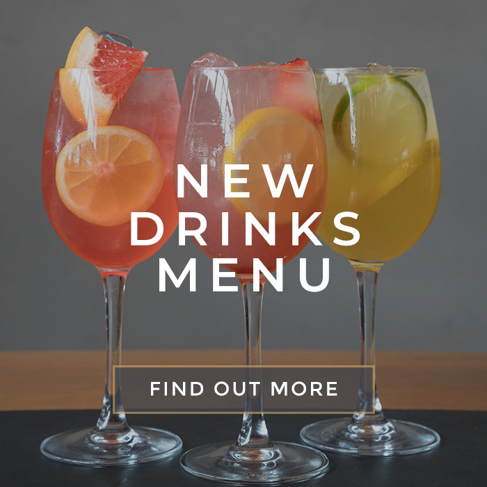 New drinks at All Bar One Tower of London