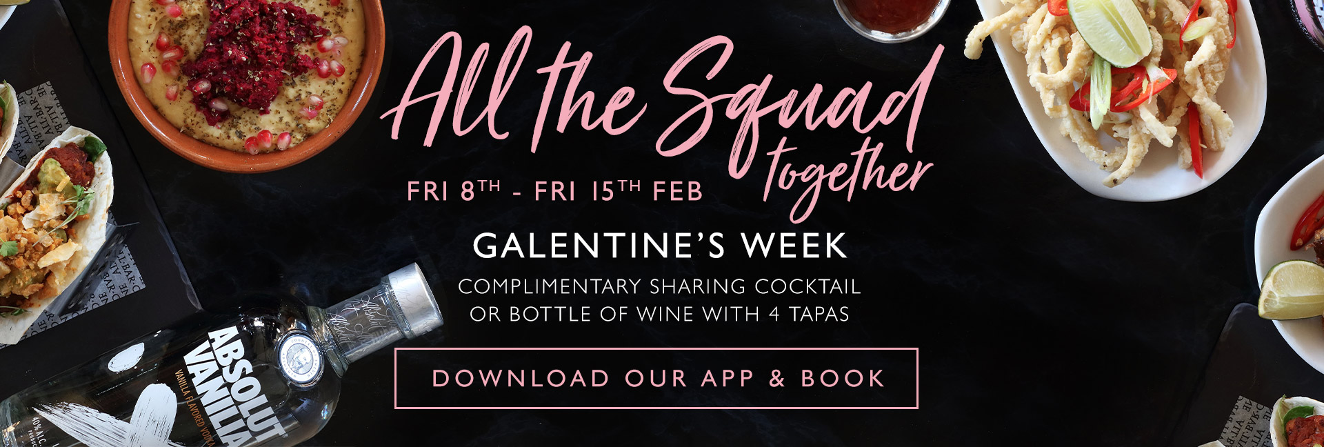 Enjoy our cocktails this Galentine's Day