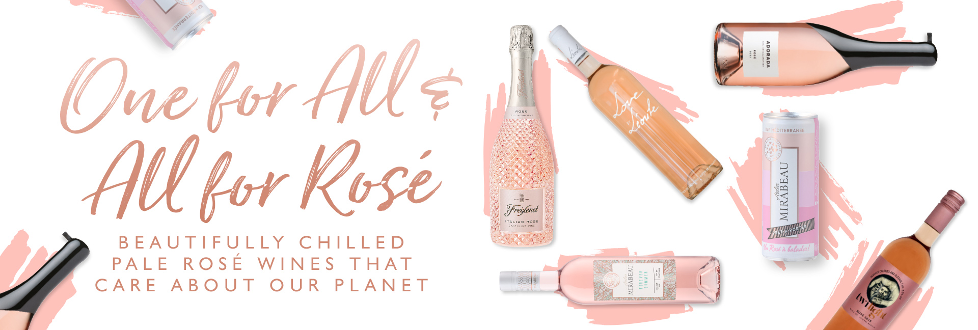 One For All & All For Rosé at All Bar One
