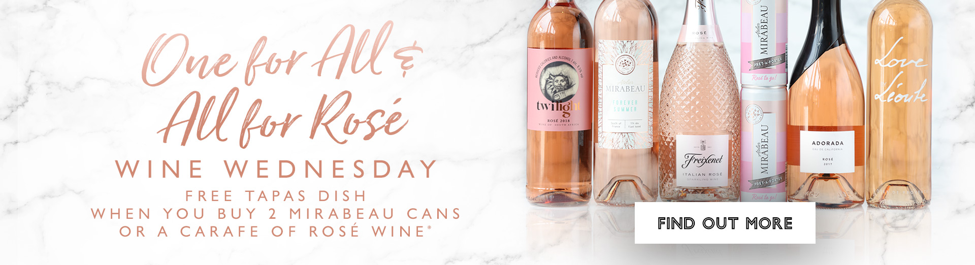 Wine Wednesdays at All Bar One Manchester