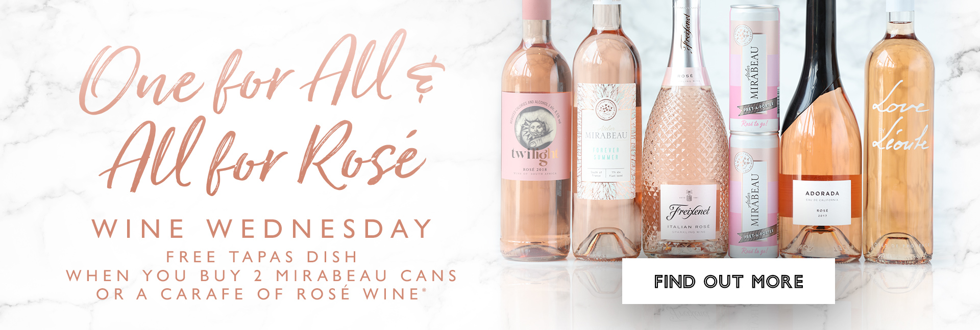 Wine Wednesdays at All Bar One Guildford