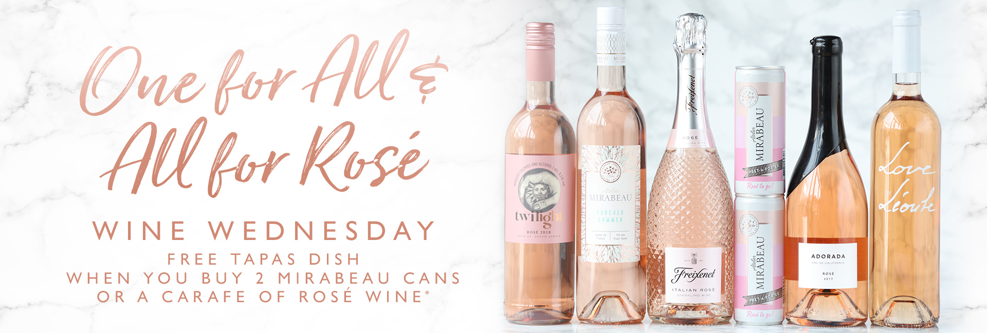 Wine Wednesday at All Bar One Stratford Upon Avon