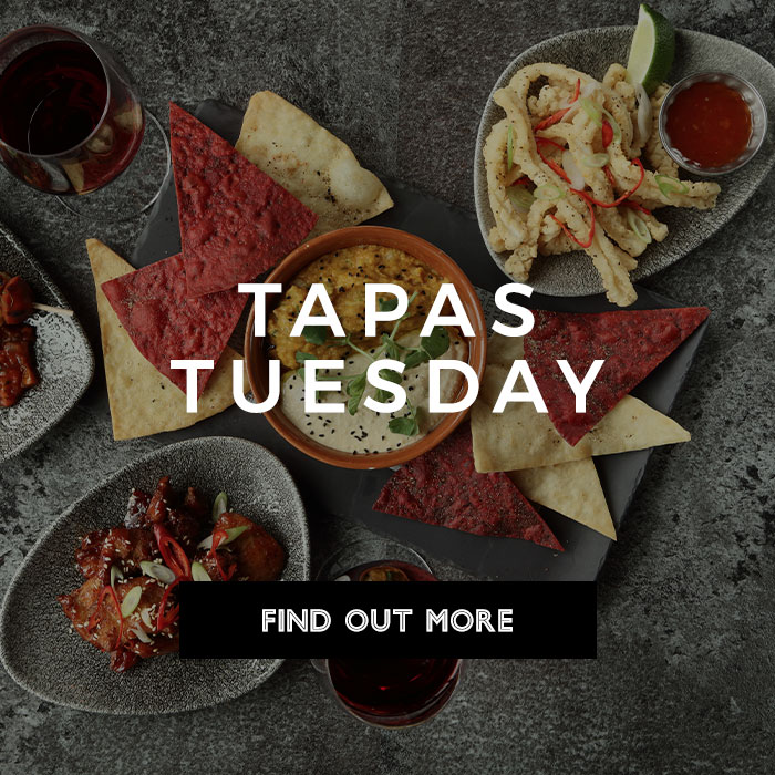 Tapas Tuesday at All Bar One New Street Station